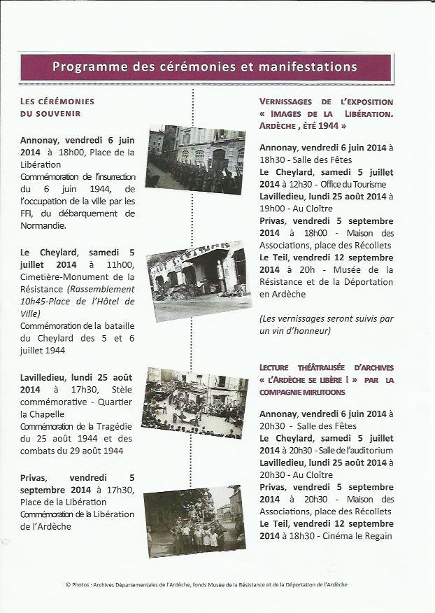 calendrier 70e anniversaire 1