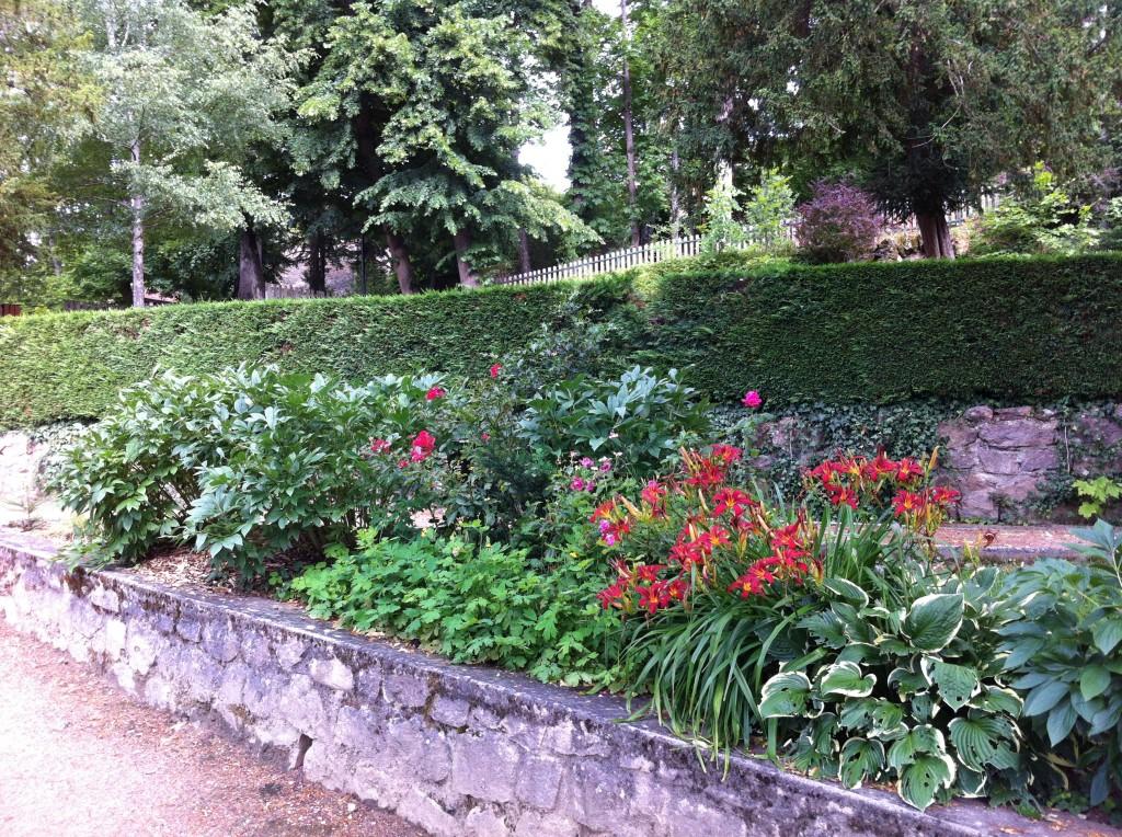 fleurissement parc seignobos
