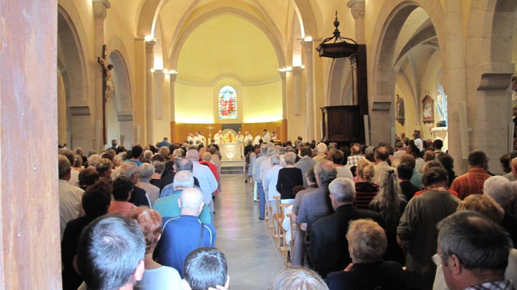 messe inaugurale eglise macheville 13 juillet 2014