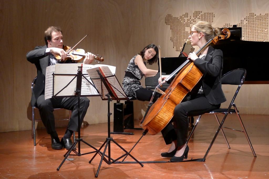 trio L,Louis-Jean Perreau  violon, Louison Crès-Debacq violoncelle, Lyuba Zhecheva  piano