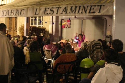 Nuit de veille palestine lamastre estaminet