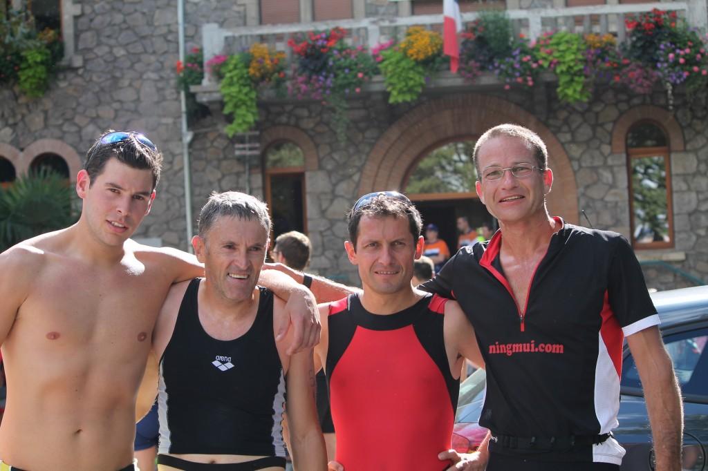 alexandre Felix reinhart vallon mathieu triathlon lamastre
