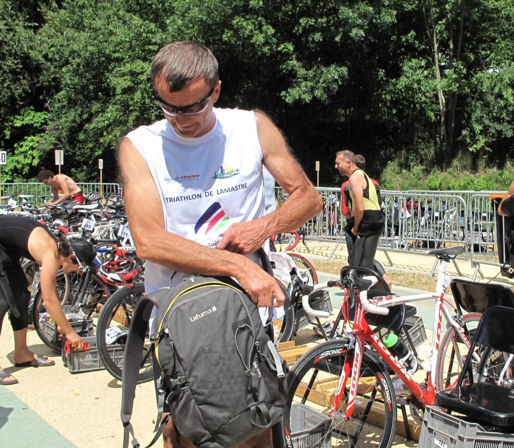 raymond bouit triathlon lamastre départ