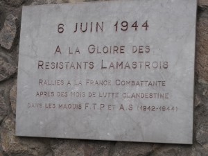6 juin 1944 Lamastre gloire  resistants