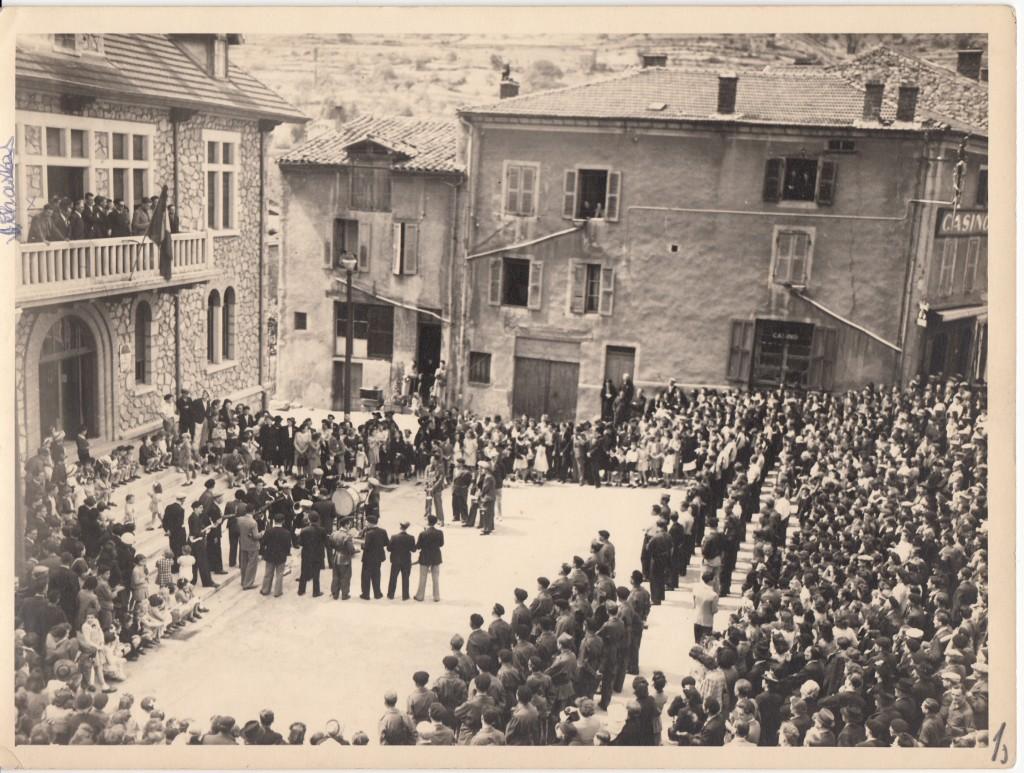 Prise d'armes lamastre 11 juin 1944  original