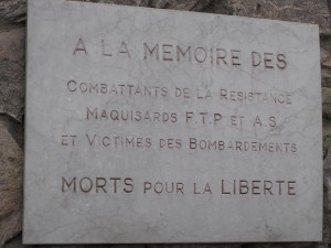 plaque mairie mémoire FTP AS