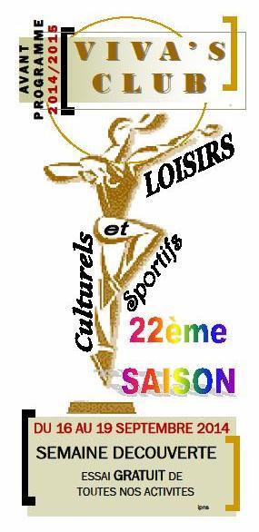programme 1 Viva's club 2014 lamastre