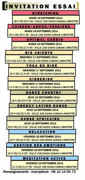 programme 2 Viva's club 2014 lamastre