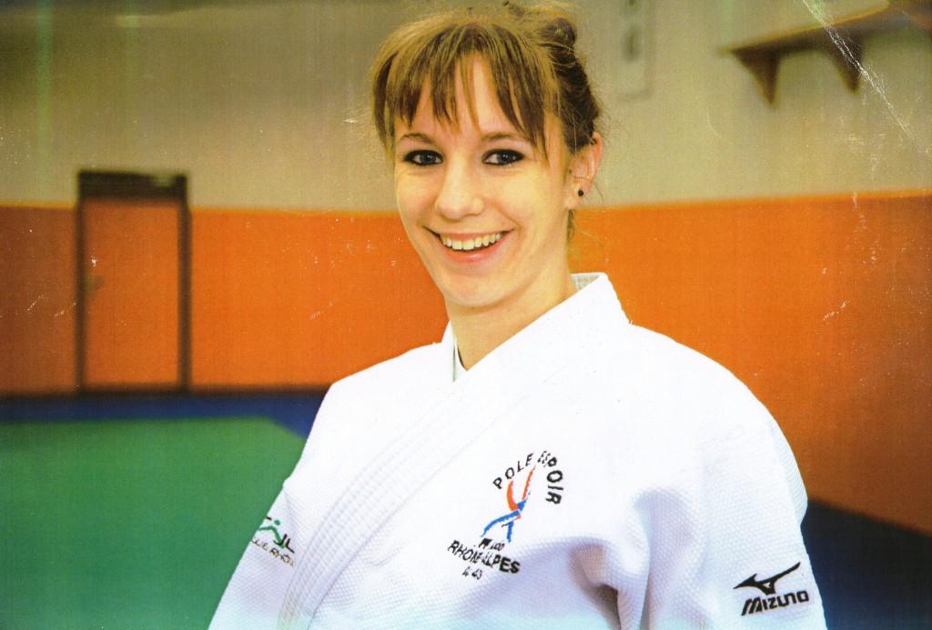 sarah perrier judo lamastre