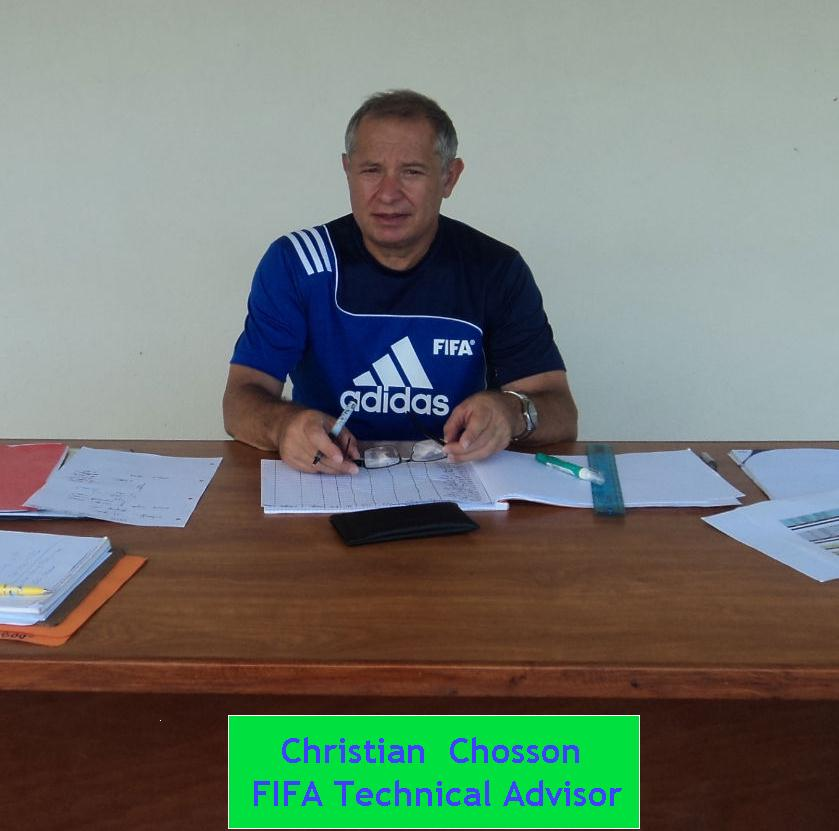 Christian Chosson FIFA technical advisor