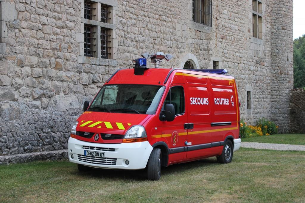 VSAB pompier lamastre