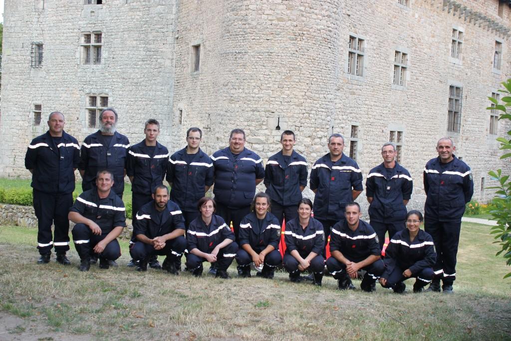 sapeurs pompiers lamastre 2015