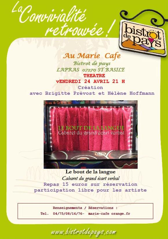 marie café brigitte prevost  helene hoffman saint basile