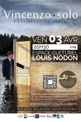 VINCENZO SOLO concert vernoux