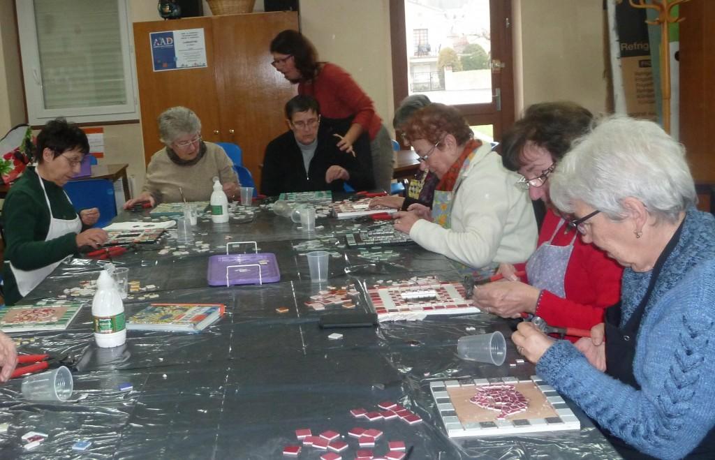 Atelier mosaique UNRPA Marlier 2
