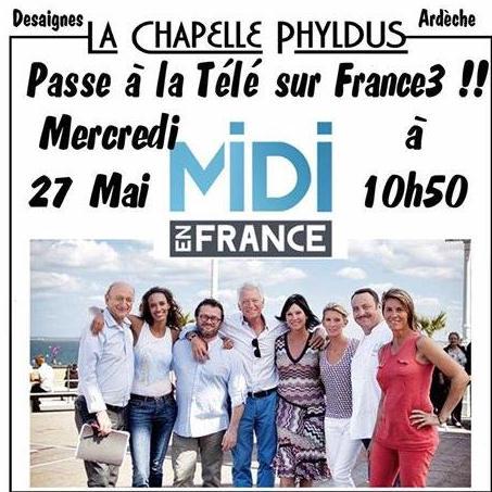 chapelle Phyldus desaignes France 3