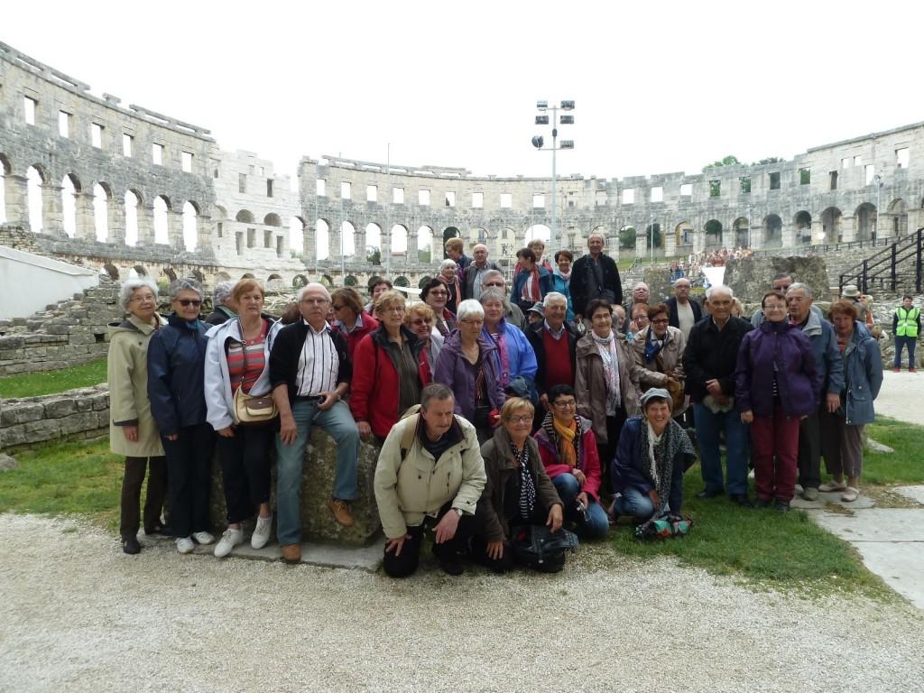 croatie pula Ensemble et solidaires UNRPA LAMASTRE.