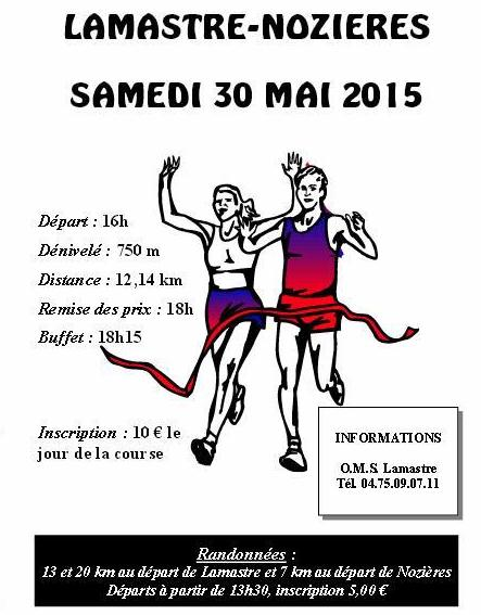 lamastre nozieres 2015 inscription fiche