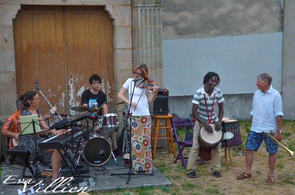 marie café chareyre marcus afro jazz