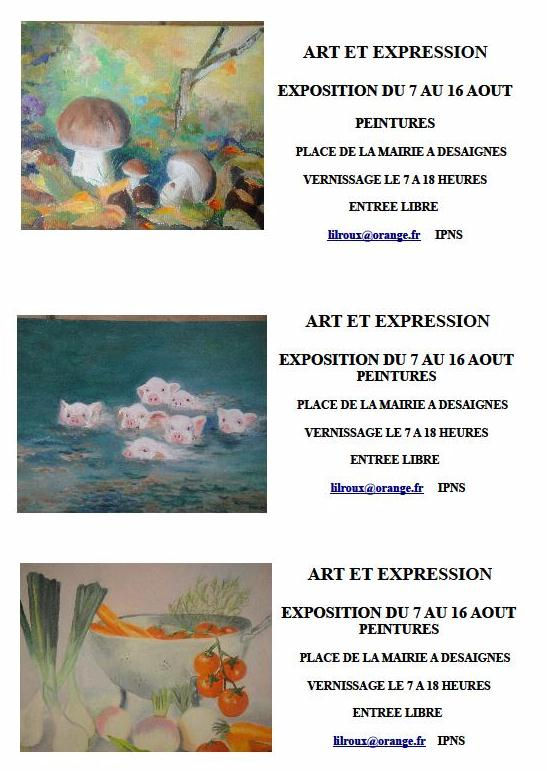 art et expression desaignes 3