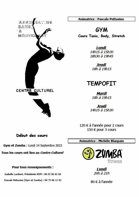 danse et mouvement programme 2015 lamastre