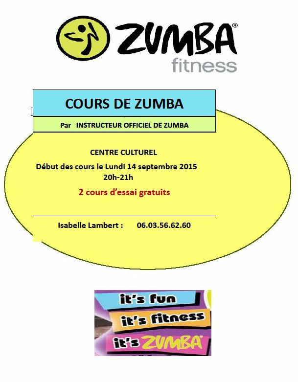 zumba fitness lamastre 2015