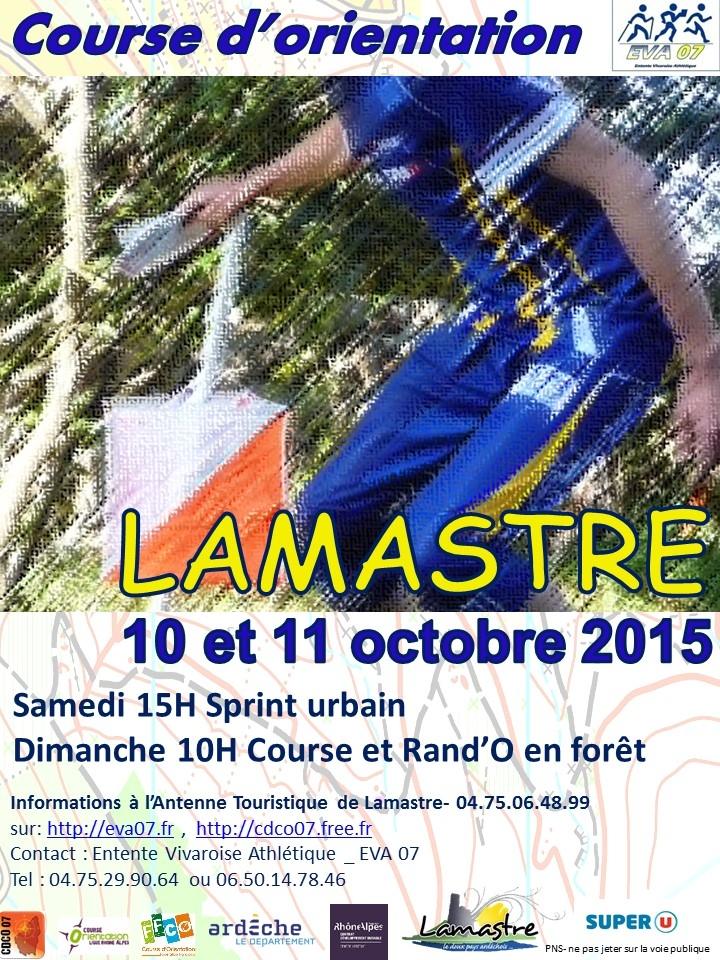 course orientation lamastre EVA