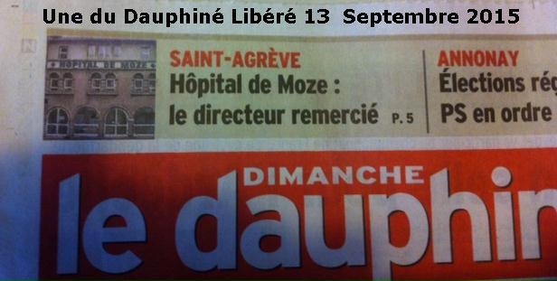 une Dauphiné Libéré Hôpital St Agreve