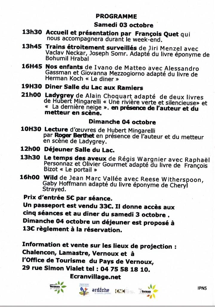 Programme roman et cinema ecran village 2015_0001