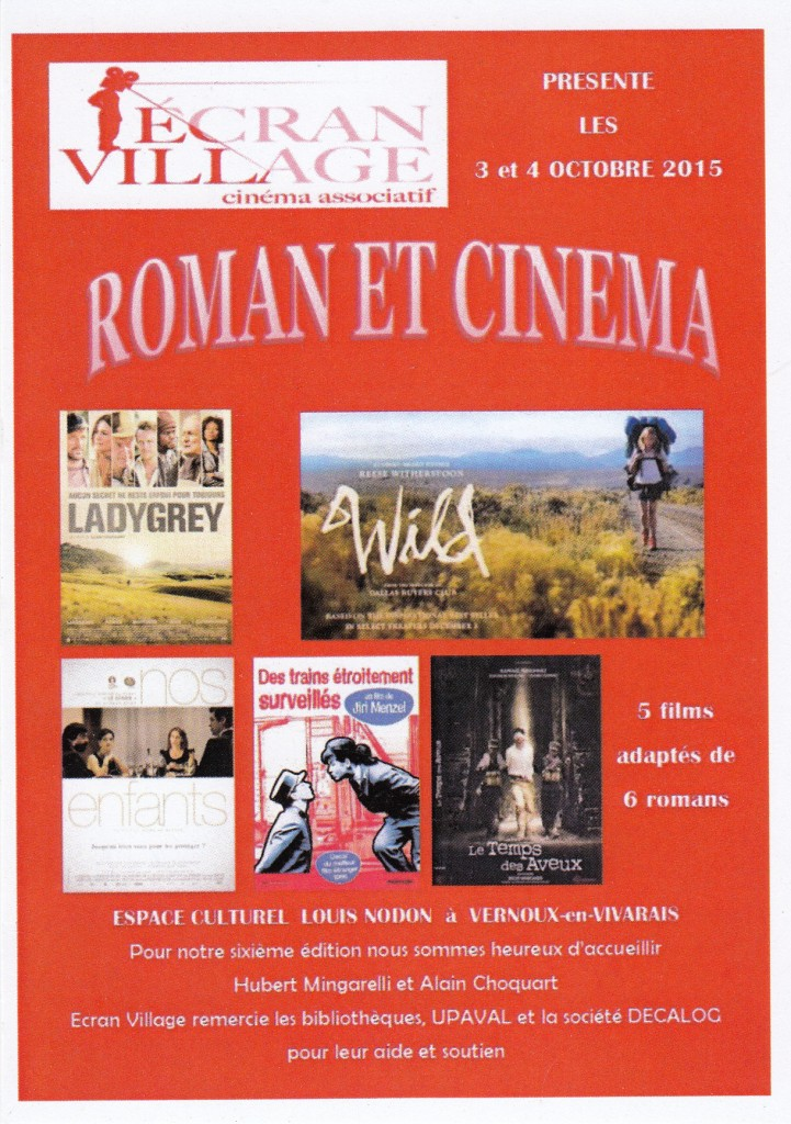 roman et cinema ecran village 2015
