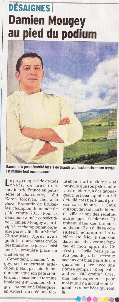 Damien mougey pate croute