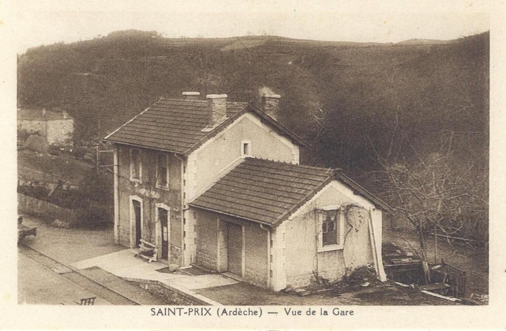 Gare CFD saint prix Lamastre dolce via