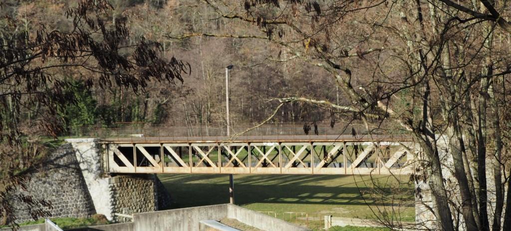 pont métallique Eiffel dolce via Lamastre