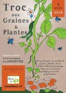 Troc graine et plante Lamastre 2016