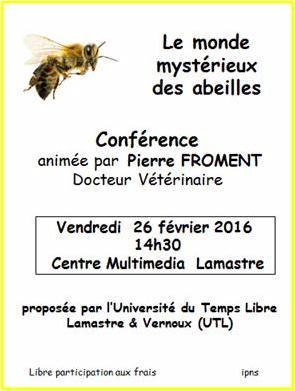 monde abeille UTL Lamastre pierre froment