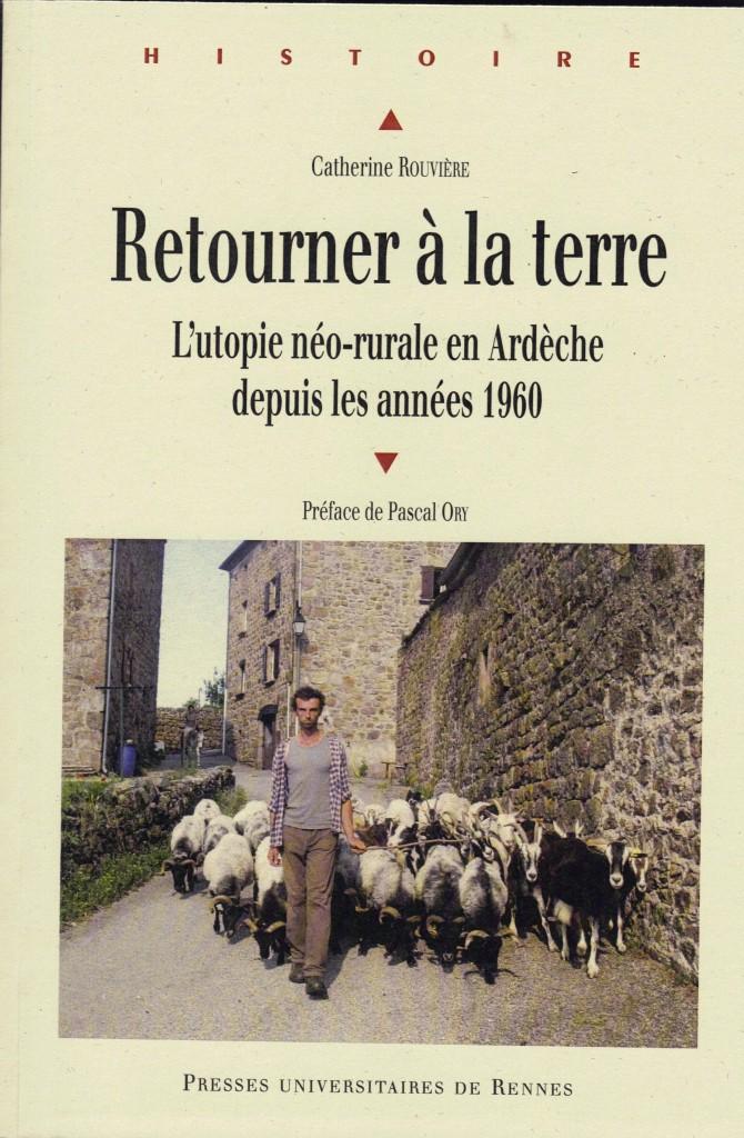 retourner à la terre Rouviere couverture utopie rurale F