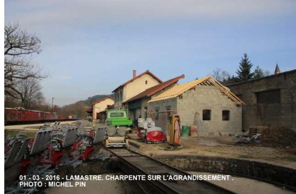 gare mastrou lamastre office tourisme travaux 2016