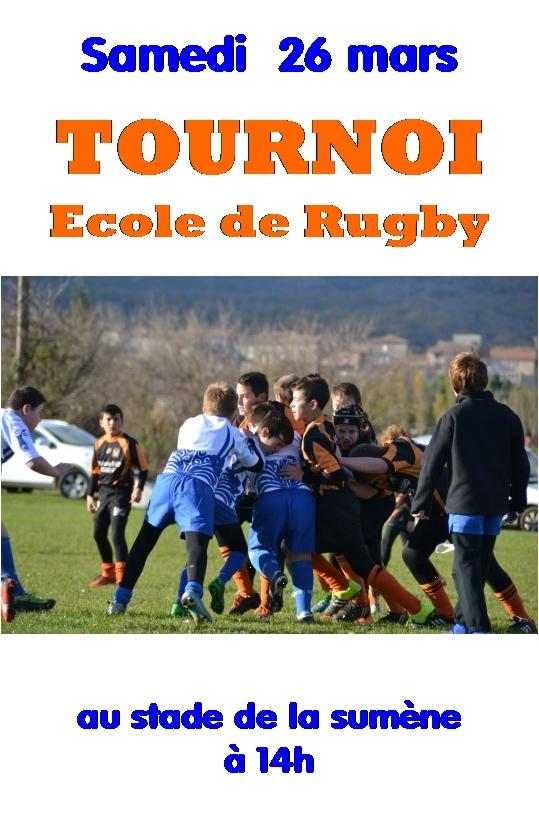 tournoi ecole rugby lamastre