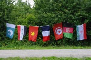 drapeau jungle calais