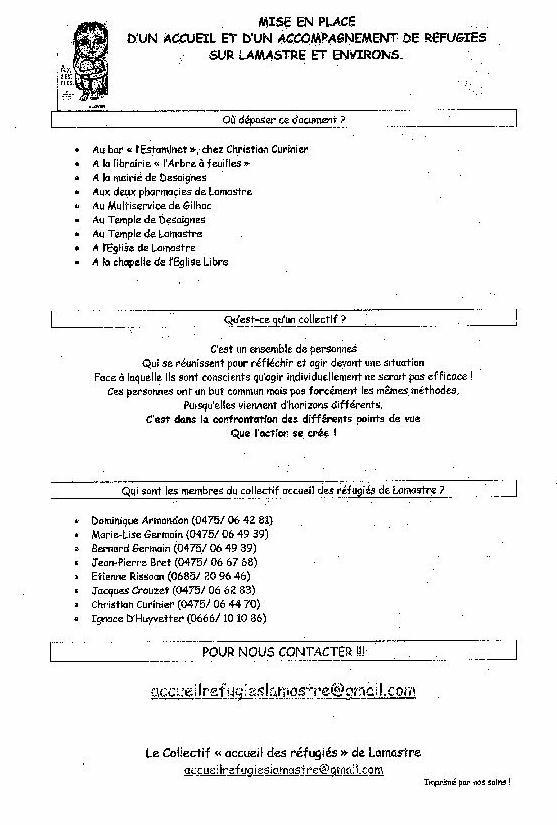 fiche renseignement accueil réfugié lamastre 2 comité