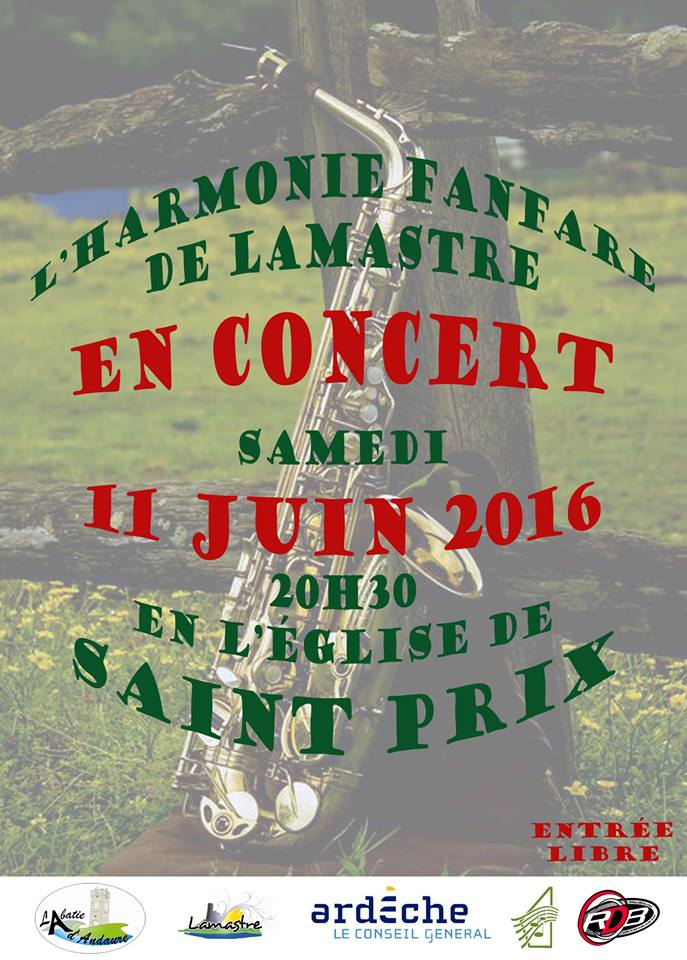 FANFARE lamastre 2016