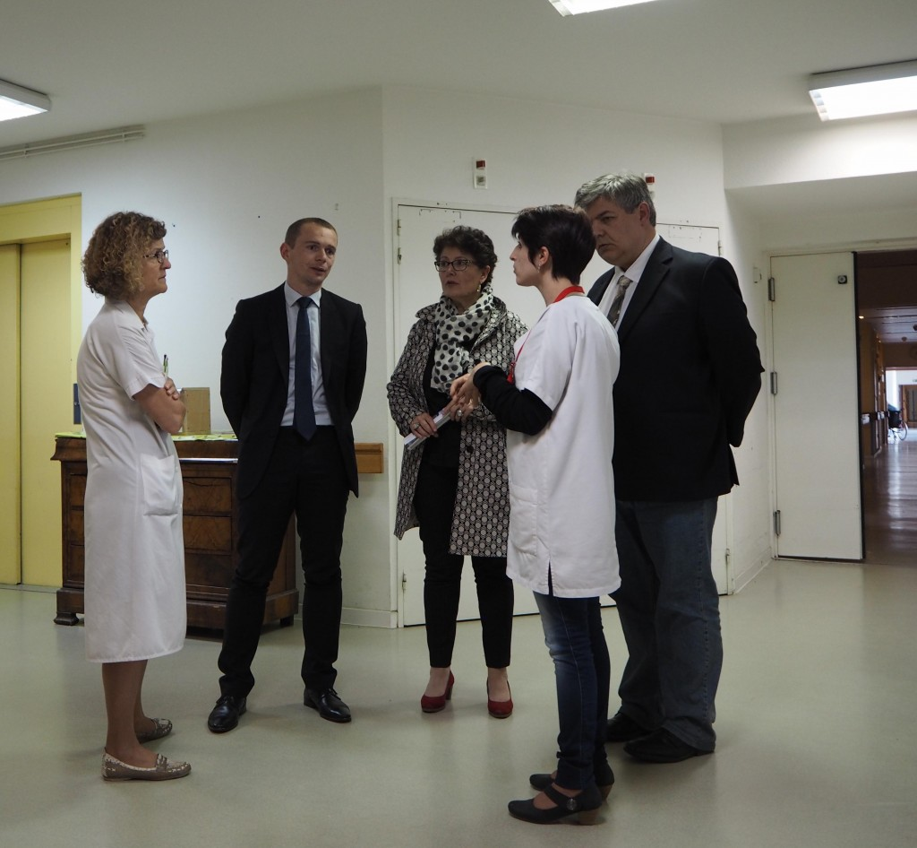 cadres de soins hopital lamastre dussopt député