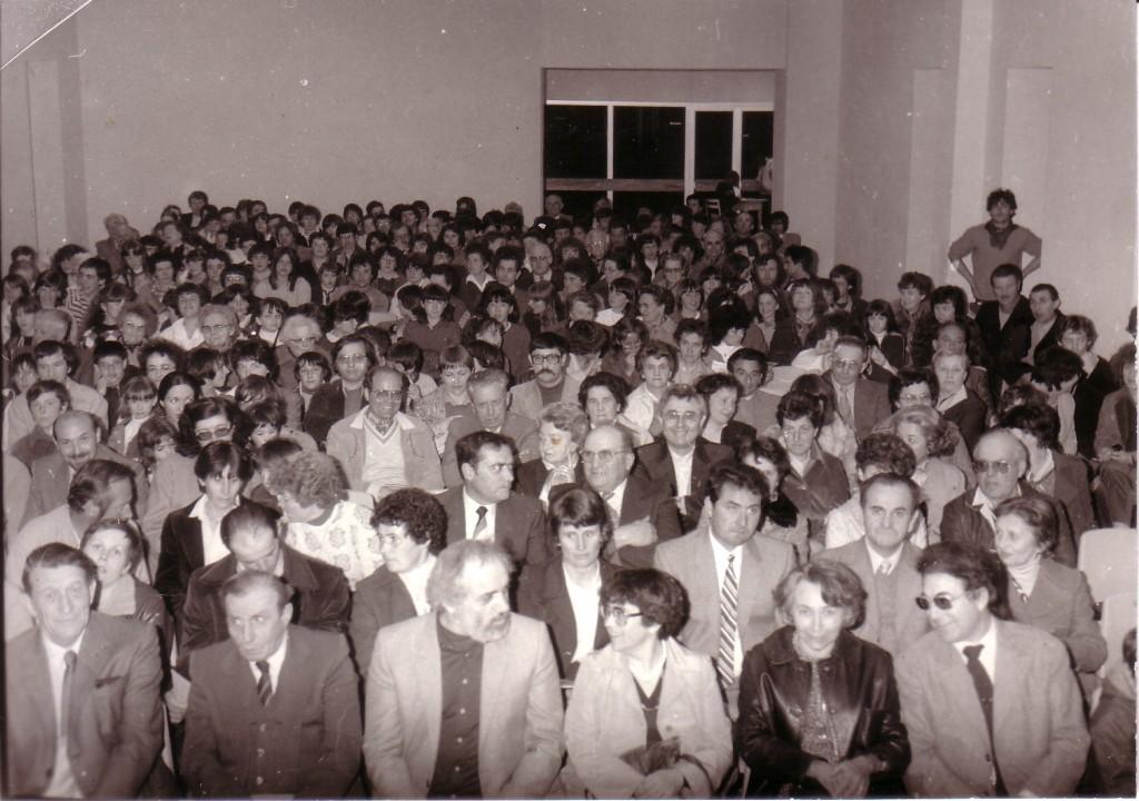 inauguration salle centre culturel lamastre paul bouit1982