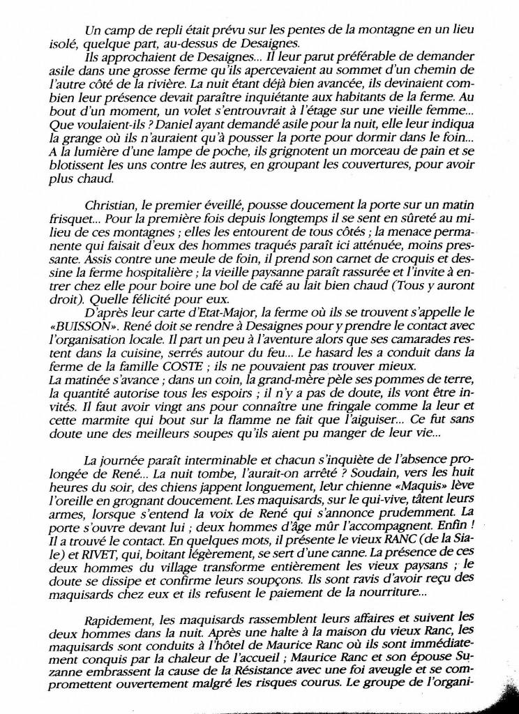 le maquis de la Raze Christian di sandro desaignes page histoire paul bouit 2