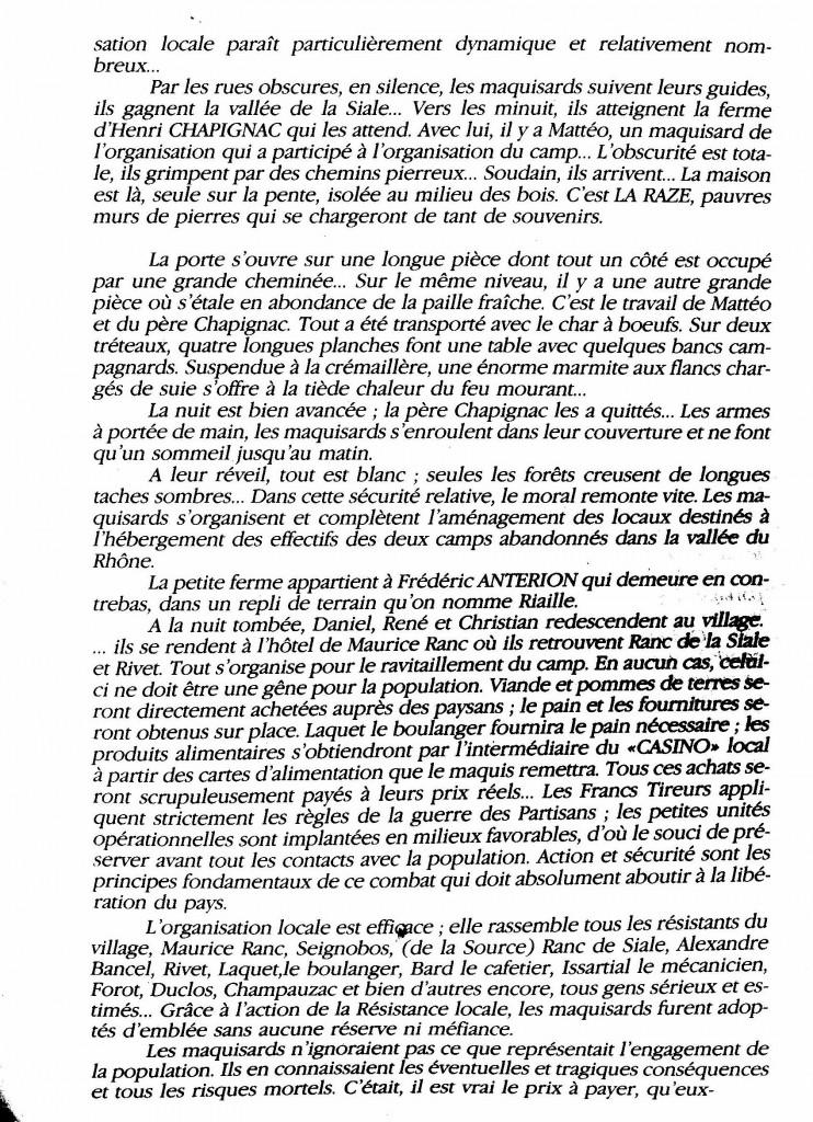 le maquis de la Raze Christian di sandro desaignes page histoire paul bouit 3