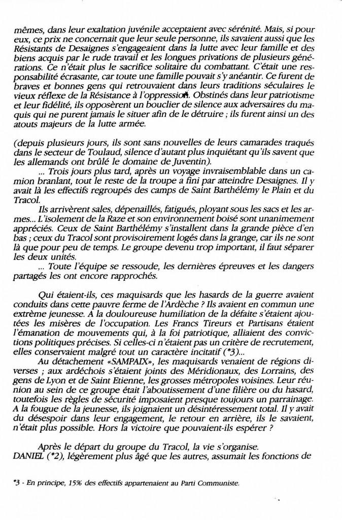 le maquis de la Raze Christian di sandro desaignes page histoire paul bouit 4