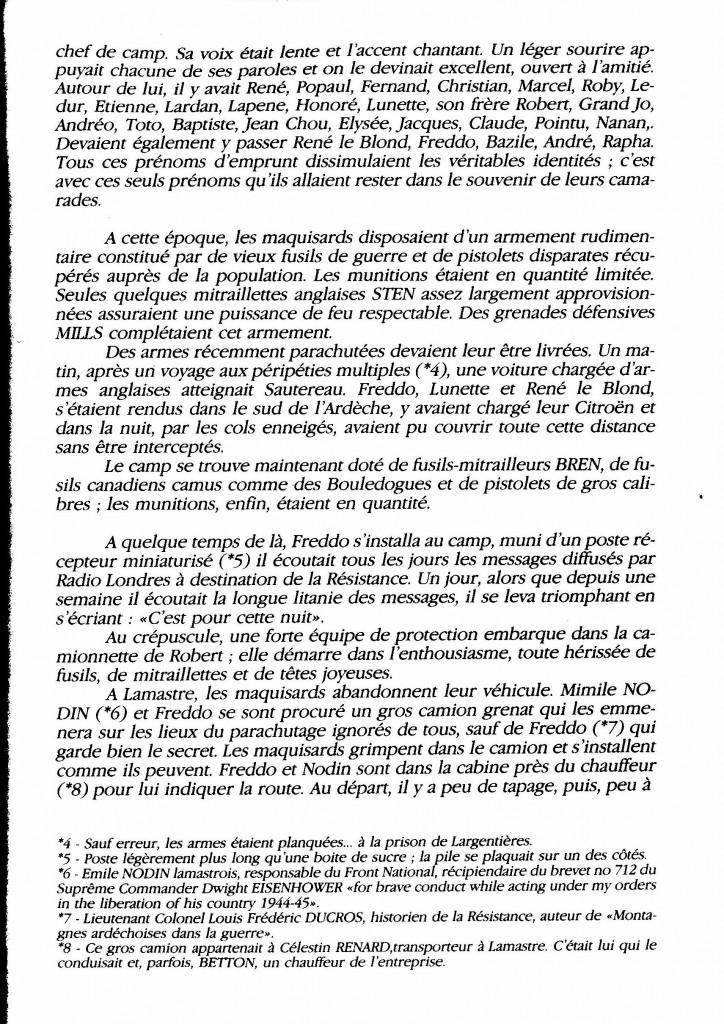 le maquis de la Raze Christian di sandro desaignes page histoire paul bouit 5