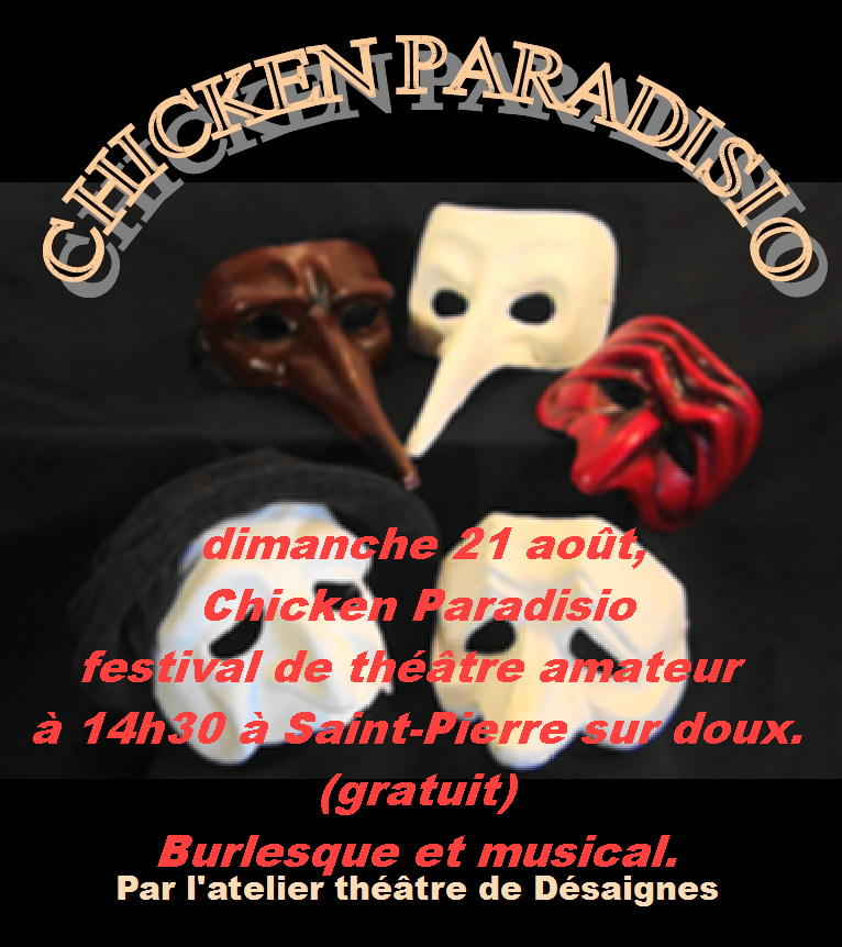 FLY CHICKEN PARADISIO