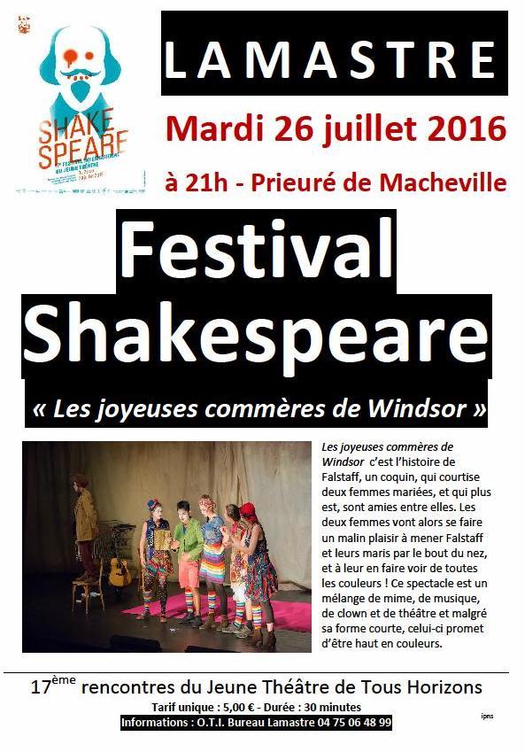 festival shakespaeare lamastre 2016