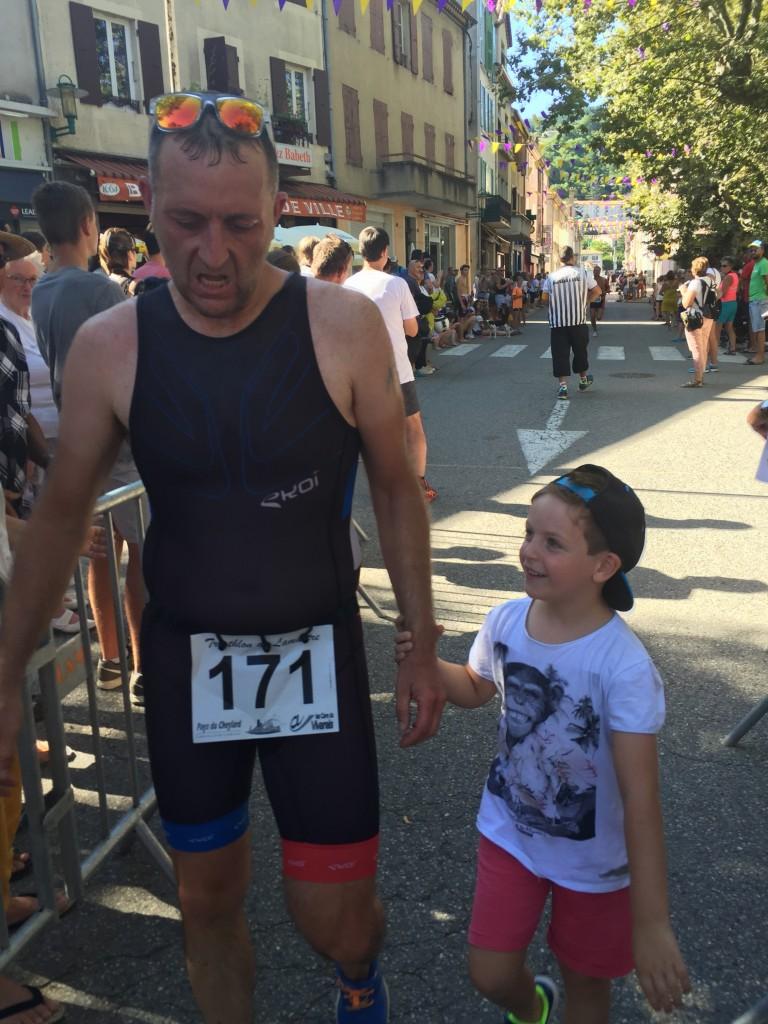triathlon lamastre 2016 bosc ludo et lucas